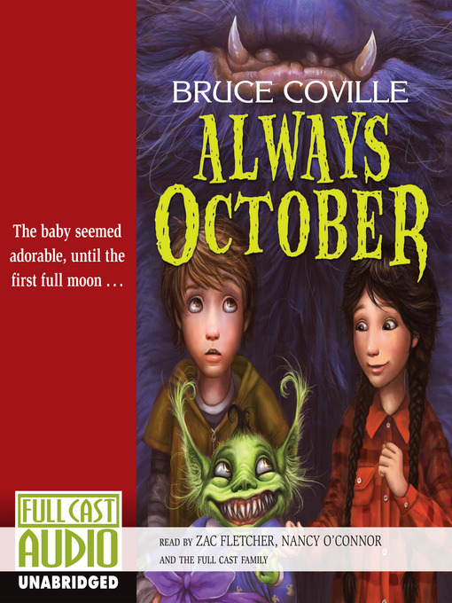 Title details for Always October by Bruce Coville - Wait list
