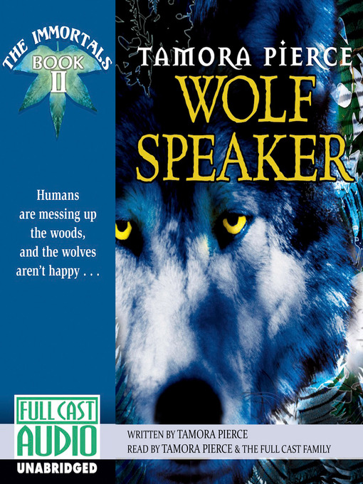 Title details for Wolf Speaker by Tamora Pierce - Available