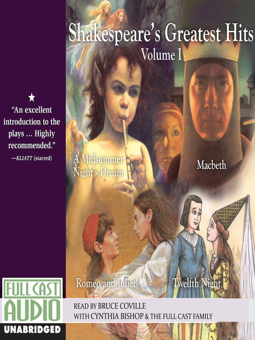Title details for Shakespeare's Greatest Hits, Volume 1 by Bruce Coville - Wait list