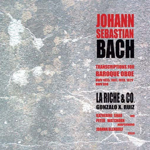Cover of JS Bach - Transcriptions for Oboe