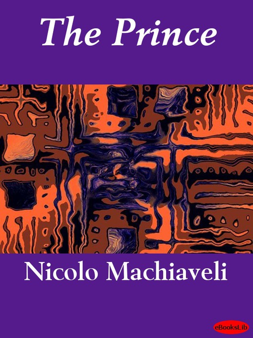 Title details for The Prince by Niccolo Machiavelli - Wait list