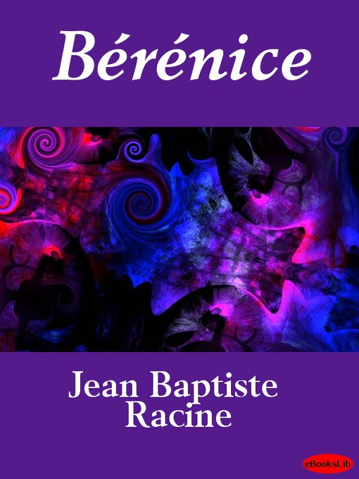 Cover of Bérénice