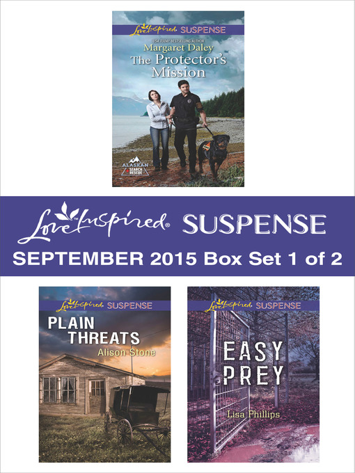Title details for Love Inspired Suspense September 2015--Box Set 1 of 2 by Margaret Daley - Available