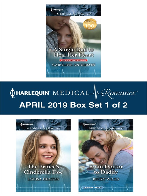 Harlequin Medical Romance April 2019, Box Set 1 of 2