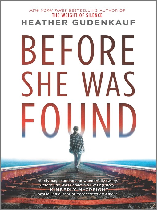 Title details for Before She Was Found by Heather Gudenkauf - Wait list