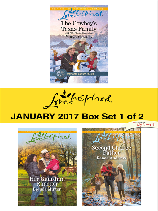 Title details for Harlequin Love Inspired January 2017, Box Set 1 of 2 by Margaret Daley - Available