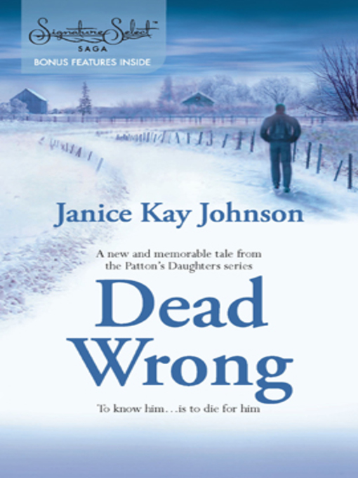 Title details for Dead Wrong by Janice Kay Johnson - Wait list