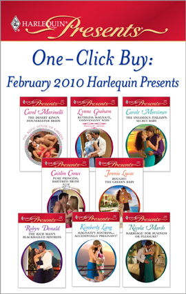 Title details for One-Click Buy: February 2010 Harlequin Presents by Carol Marinelli - Wait list