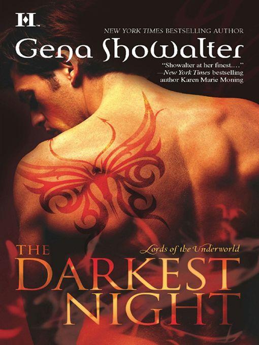 Title details for The Darkest Night by Gena Showalter - Wait list