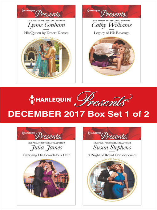 Title details for Harlequin Presents December 2017--Box Set 1 of 2 by Lynne Graham - Available
