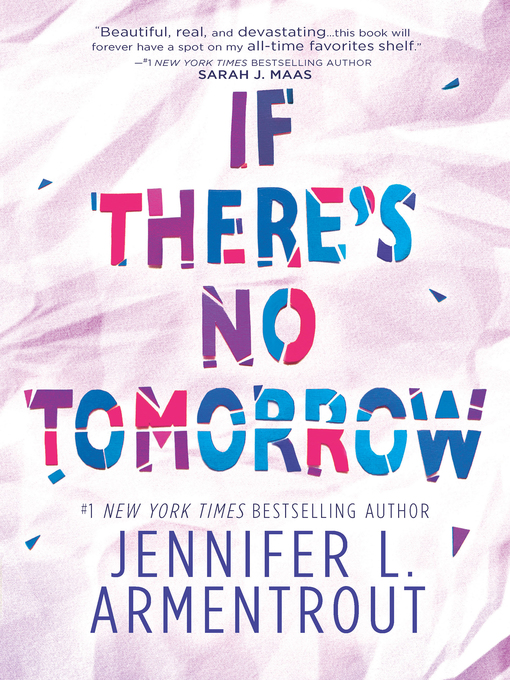 Cover image for If There's No Tomorrow