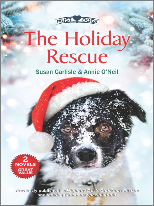 Title details for The Holiday Rescue by Susan Carlisle - Available