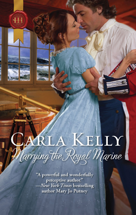 Title details for Marrying the Royal Marine by Carla Kelly - Wait list