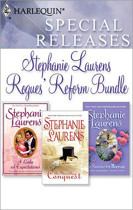 Title details for Rogues' Reform Bundle: The Reasons for Marriage\A Lady of Expectations\An Unwilling Conquest by STEPHANIE LAURENS - Available
