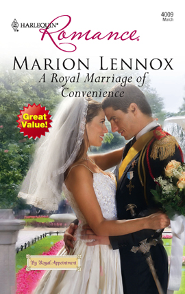 Title details for A Royal Marriage of Convenience by Marion Lennox - Available