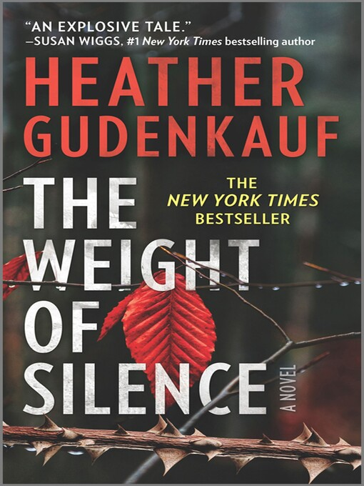 Title details for The Weight of Silence by Heather Gudenkauf - Available