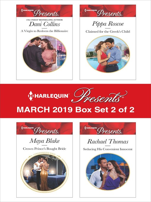 Title details for Harlequin Presents--March 2019--Box Set 2 of 2 by Dani Collins - Wait list