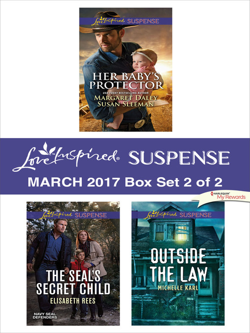 Title details for Harlequin Love Inspired Suspense March 2017, Box Set 2 of 2 by Margaret  Daley - Available