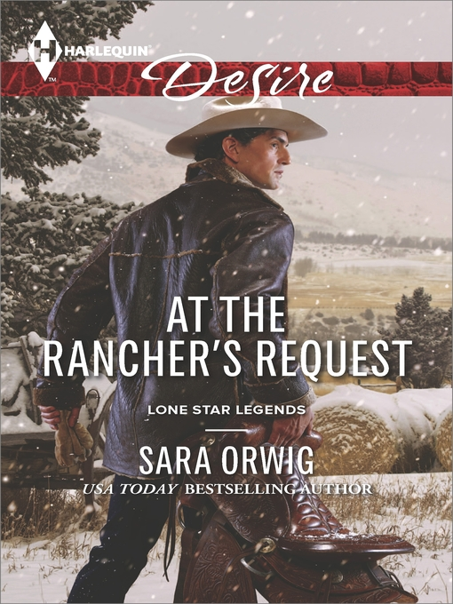 Title details for At the Rancher's Request by Sara Orwig - Wait list