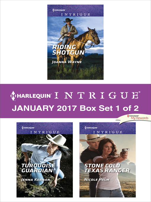 Title details for Harlequin Intrigue January 2017, Box Set 1 of 2 by Joanna Wayne - Available