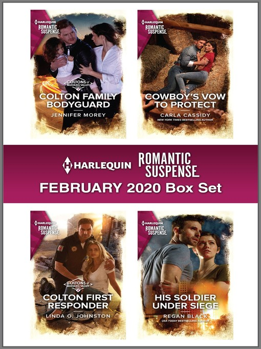 Title details for Harlequin Romantic Suspense February 2020 Box Set by Jennifer Morey - Available