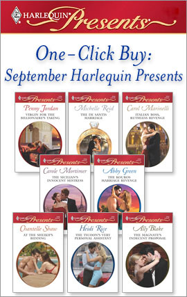 Title details for One-Click Buy: September Harlequin Presents by Penny Jordan - Available