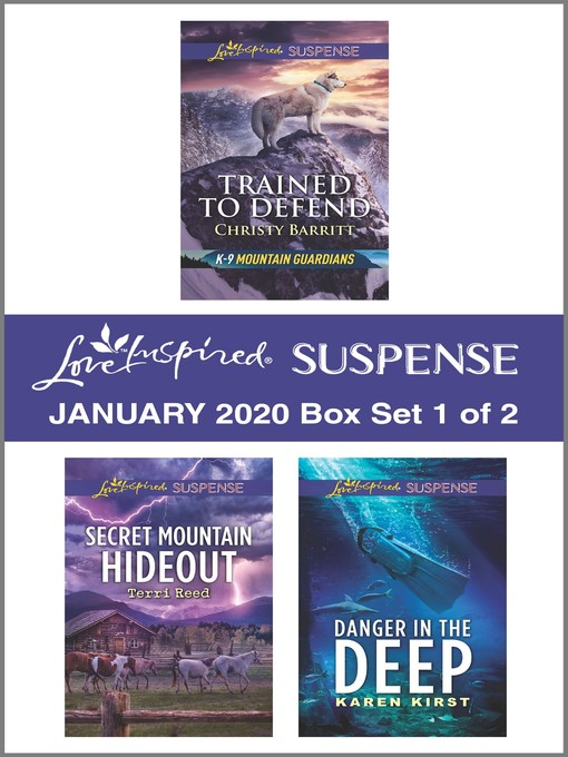 Title details for Harlequin Love Inspired Suspense January 2020--Box Set 1 of 2 by Christy Barritt - Available