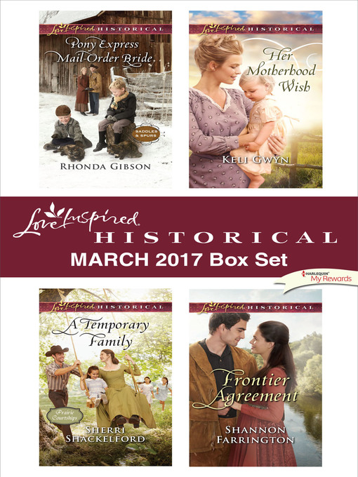 Title details for Love Inspired Historical March 2017 Box Set by Rhonda Gibson - Wait list