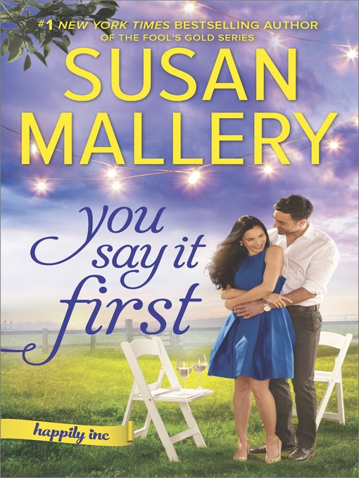 Cover of You Say It First--A Small-Town Wedding Romance
