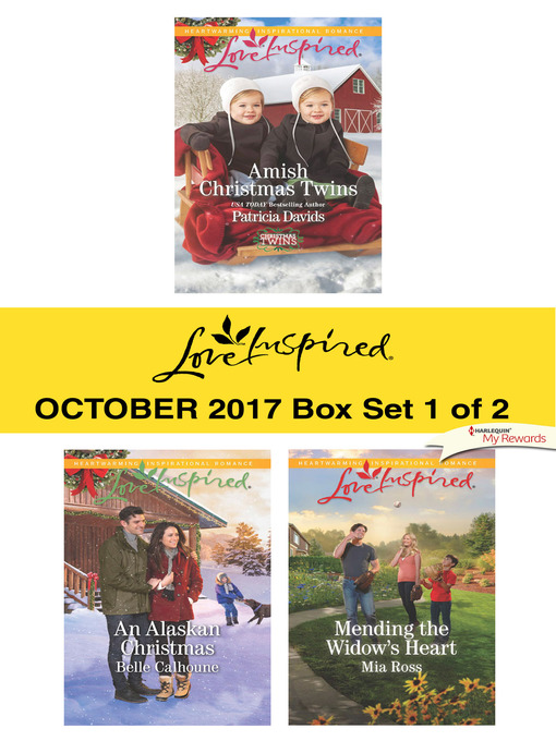 Title details for Harlequin Love Inspired October 2017--Box Set 1 of 2 by Patricia Davids - Wait list