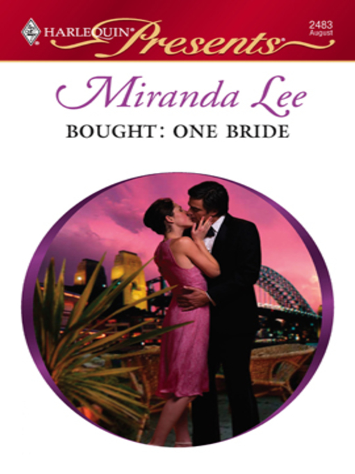 Title details for Bought: One Bride by Lucy Monroe - Available