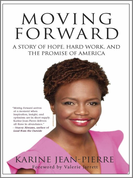 Title details for Moving Forward by Karine Jean-Pierre - Wait list
