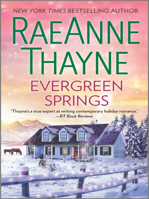 Title details for Evergreen Springs by RaeAnne Thayne - Available