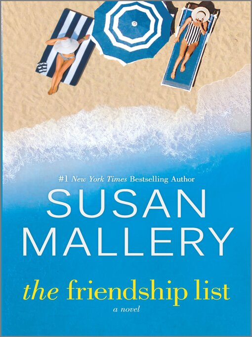 Title details for The Friendship List by Susan Mallery - Wait list