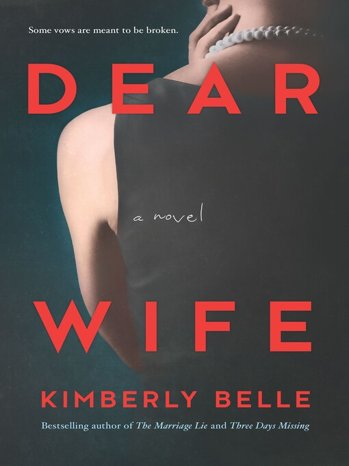 Dear wife A Novel