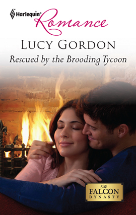 Title details for Rescued by the Brooding Tycoon by Lucy Gordon - Available