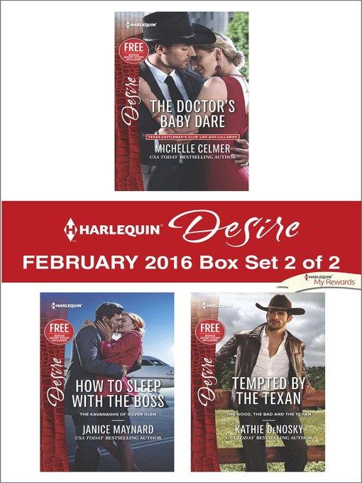 Title details for Harlequin Desire February 2016, Box Set 2 of 2 by Michelle Celmer - Wait list