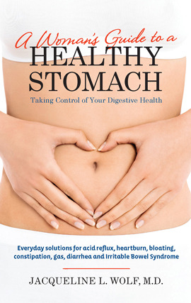 Title details for A Woman's Guide to a Healthy Stomach: Taking Control of Your Digestive Health by Jacqueline  Wolf - Wait list