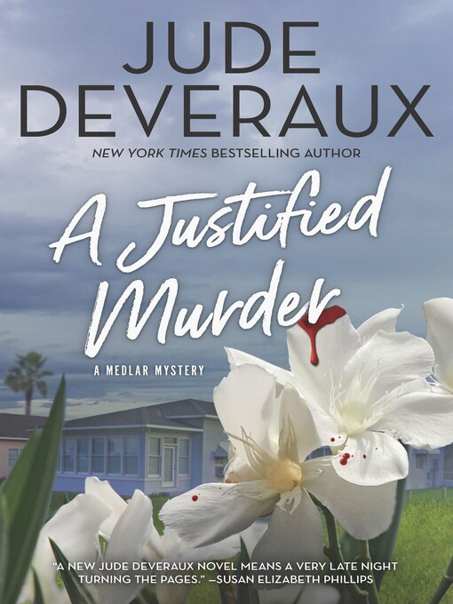 Title details for A Justified Murder by Jude Deveraux - Wait list