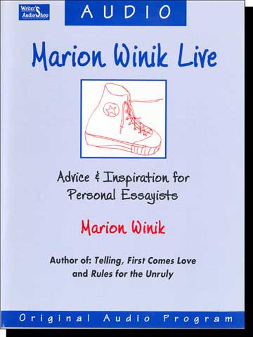 Title details for Marion Winik Live by Marion Winik - Available