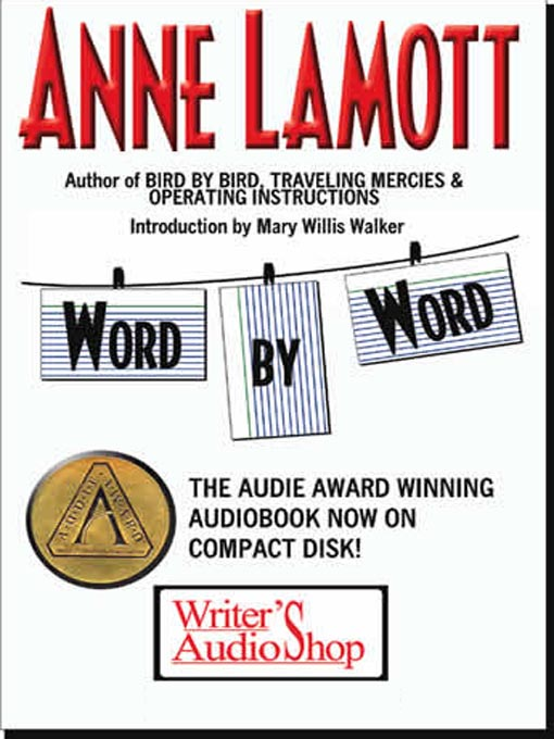 Title details for Word by Word by Anne Lamott - Wait list