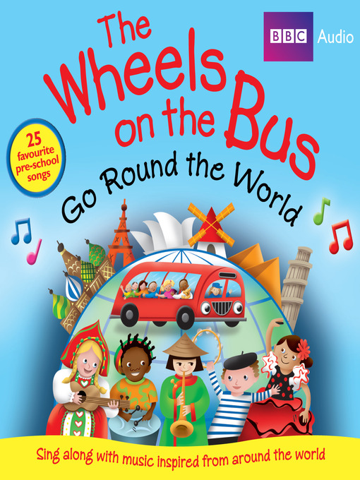 Cover image for Wheels on the Bus Go Round the World