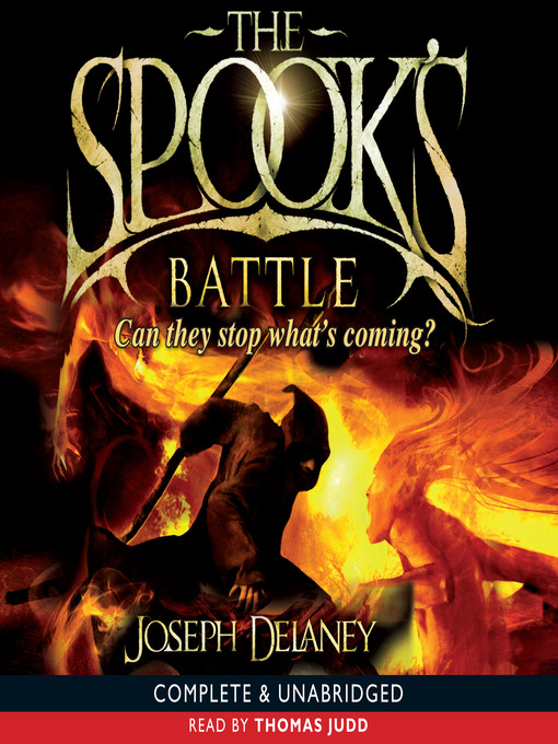 Title details for The Spook's Battle by Joseph Delaney - Wait list