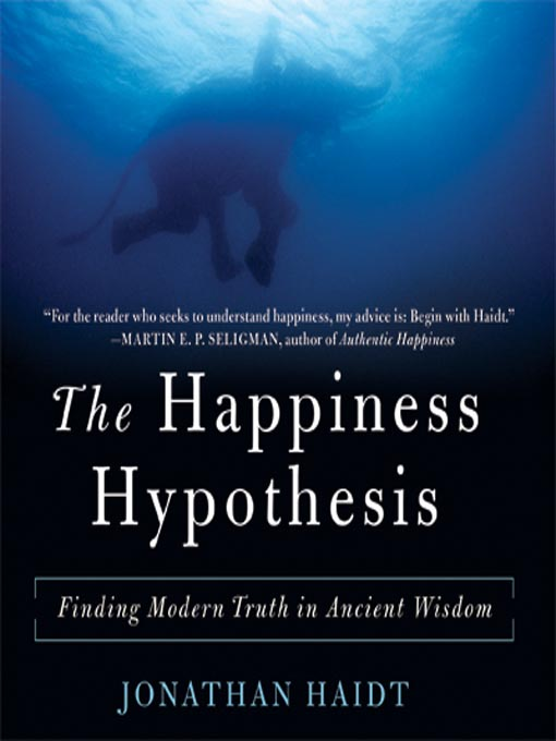 Cover image for The Happiness Hypothesis