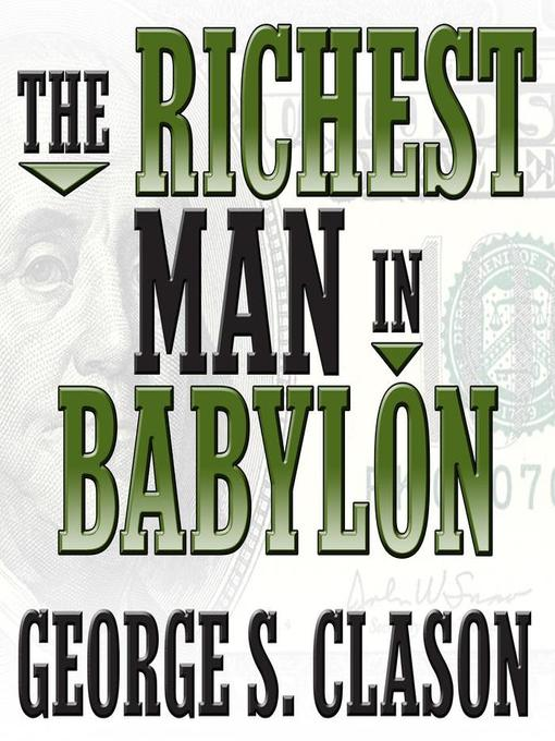 Cover of The Richest Man in Babylon