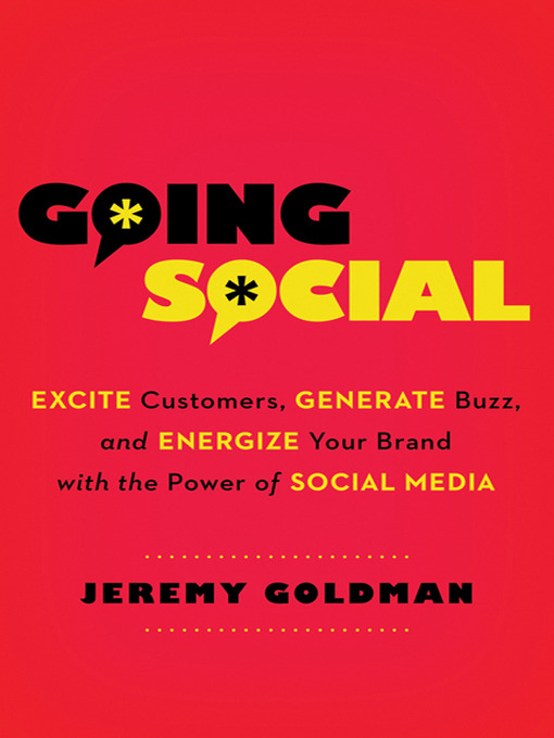 Title details for Going Social by Jeremy Goldman - Wait list