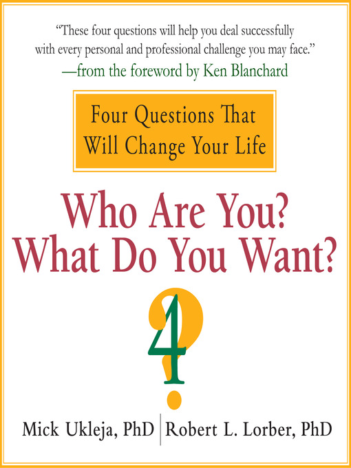 Cover of Who Are You? What Do You Want?
