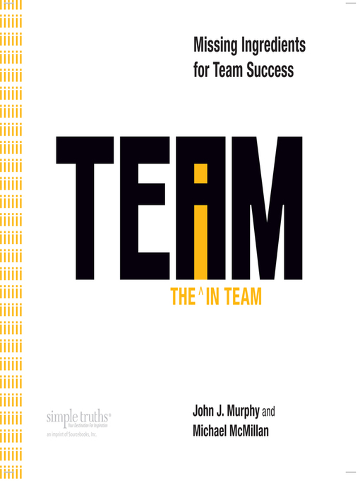 Title details for The I in Team by Michael McMillian - Available