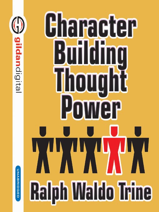 Cover of Character Building Through Power