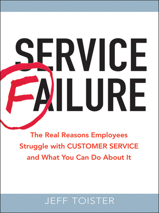 service failure and service recovery The profitable art of service recovery  companies known for excellent service will go the extra yard to cover all the costs a failure incurs or, if the inconvenience is so great that the.
